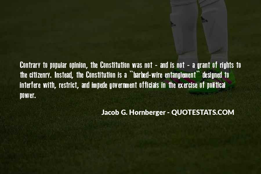 Jacob Hornberger Quotes #1266261