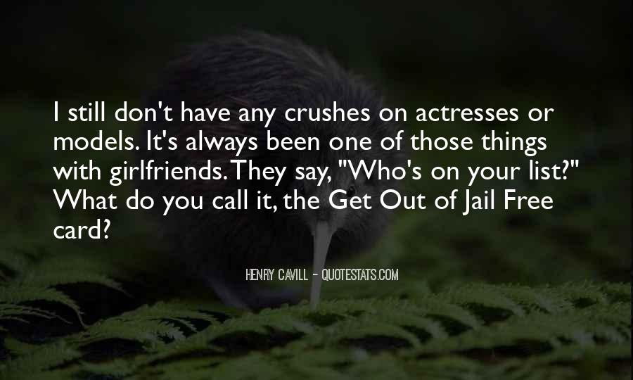 Jail Girlfriend Quotes #258364