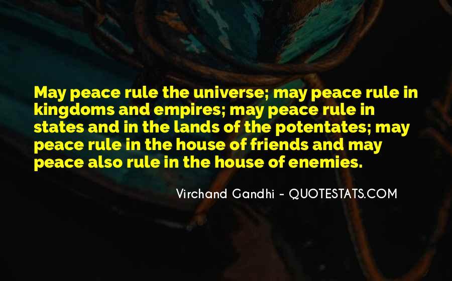 Jainism Peace Quotes #1359702
