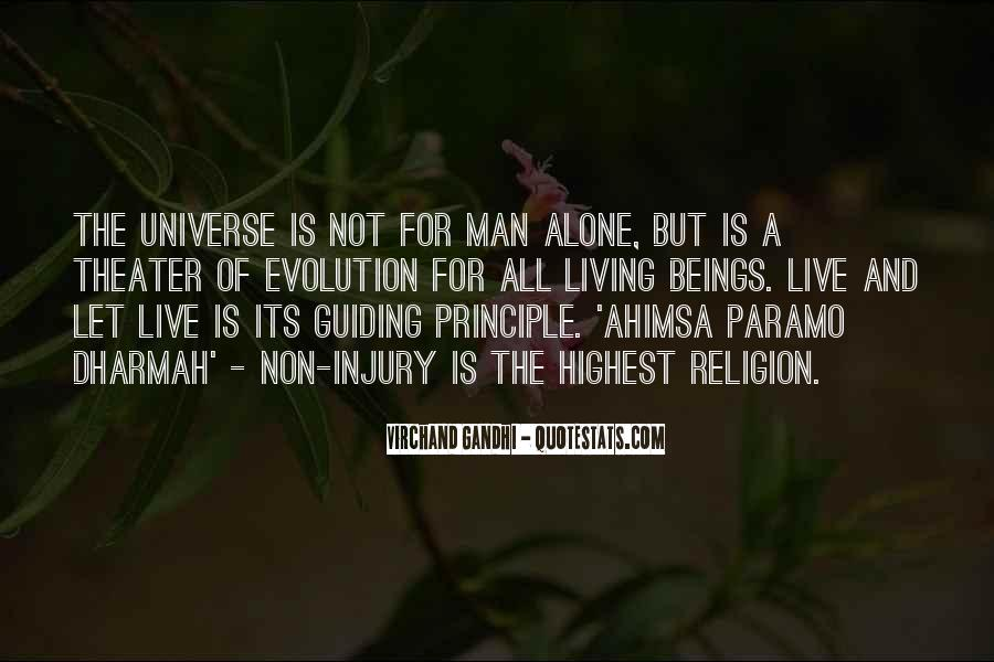 Jainism Peace Quotes #953589
