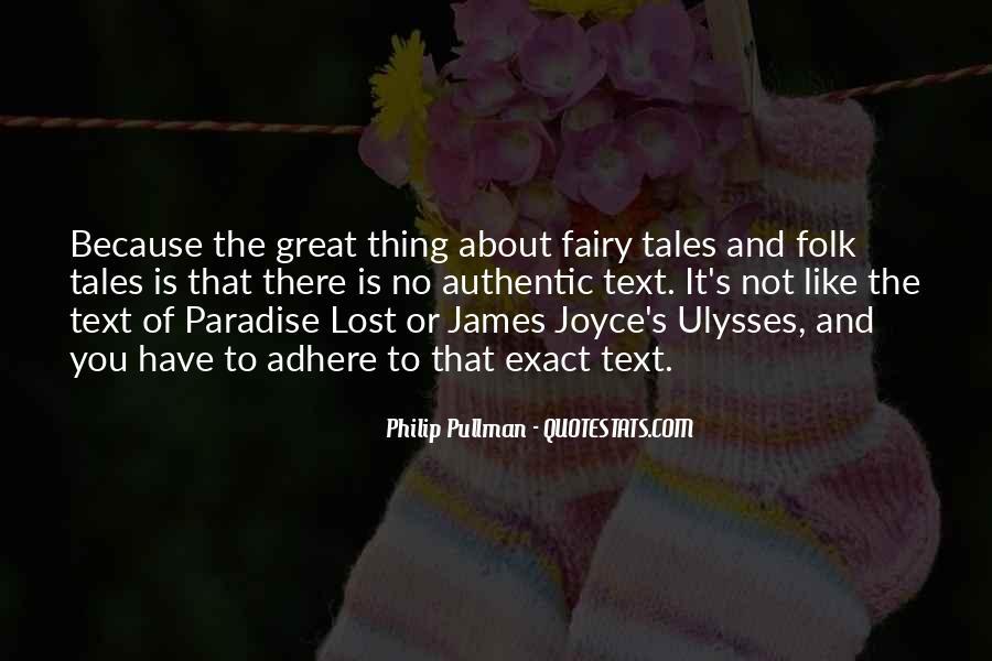 James Joyce Ulysses Quotes #1232601