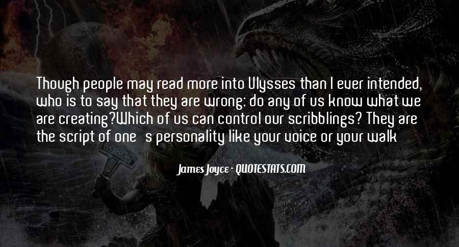 James Joyce Ulysses Quotes #132233