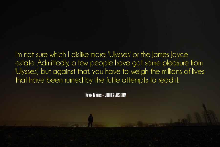 James Joyce Ulysses Quotes #1355120