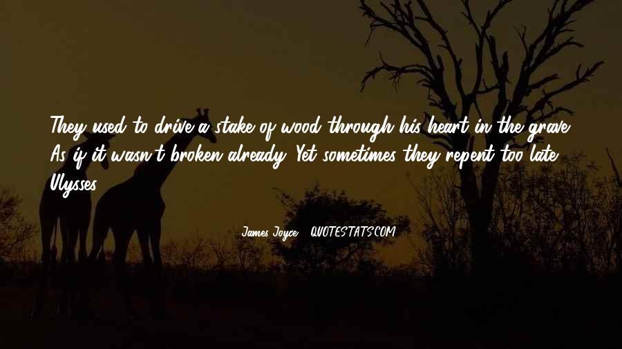 James Joyce Ulysses Quotes #189475