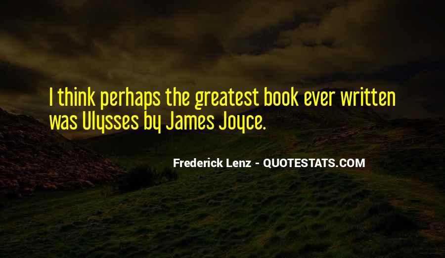 James Joyce Ulysses Quotes #334364
