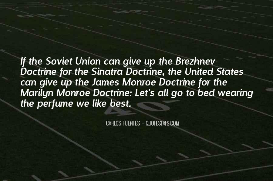 James Monroe Doctrine Quotes #1744540