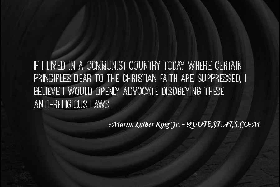 Quotes About Faith Martin Luther King Jr #1242063