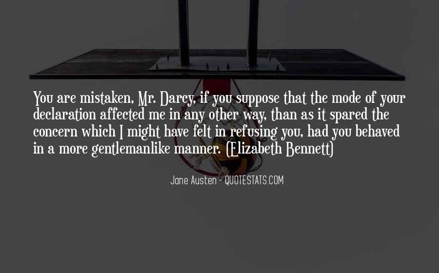 Jane Austen Mr Bennet Quotes #1092154