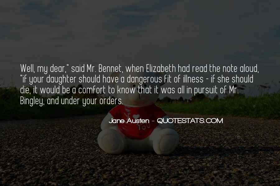 Jane Austen Mr Bennet Quotes #1378532