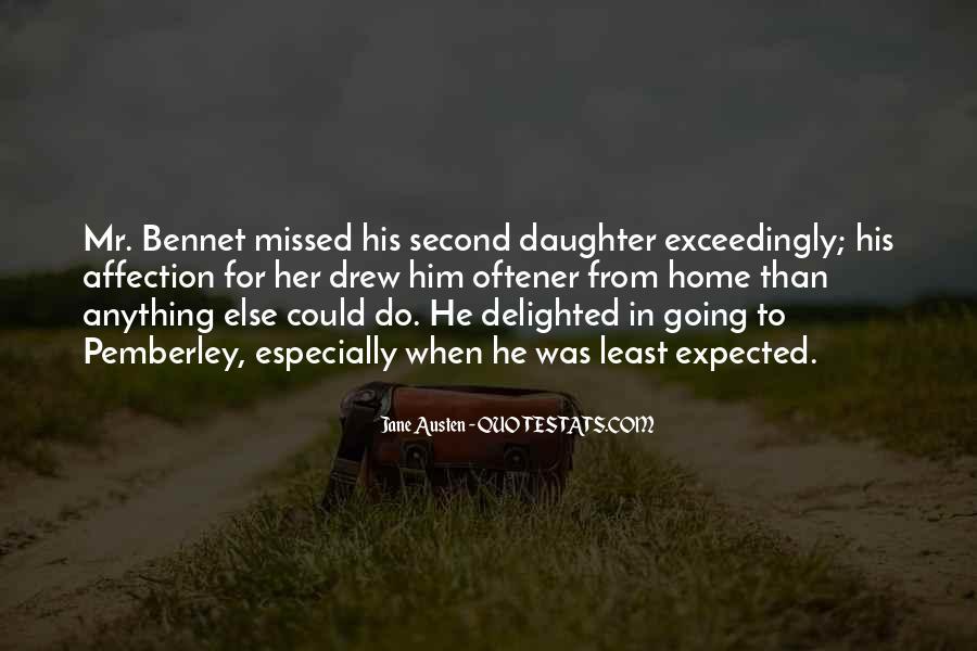 Jane Austen Mr Bennet Quotes #1491990