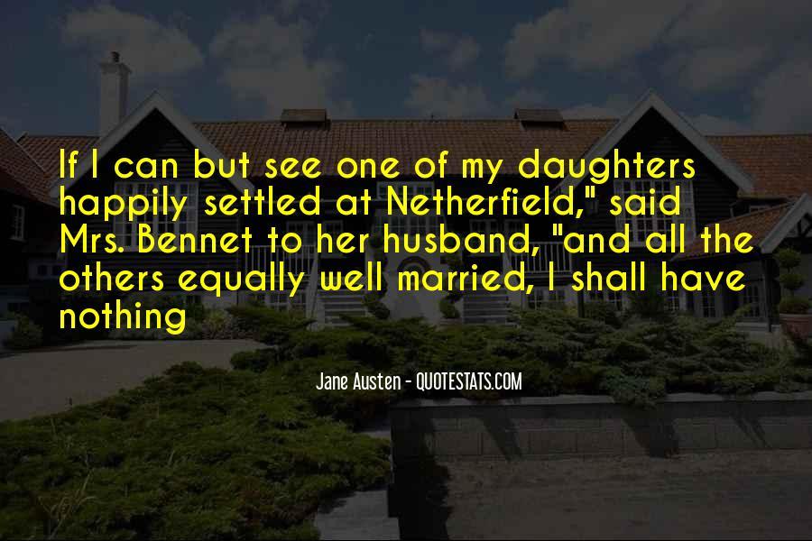 Jane Austen Mr Bennet Quotes #1498133