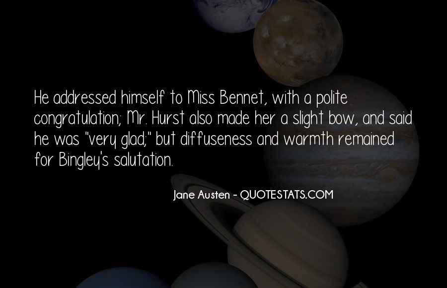 Jane Austen Mr Bennet Quotes #1835256
