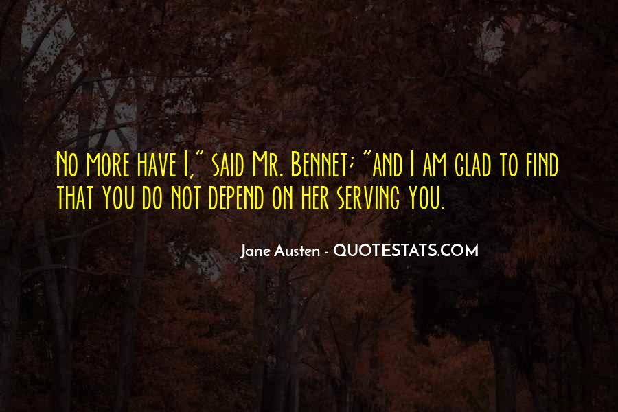 Jane Austen Mr Bennet Quotes #1836869