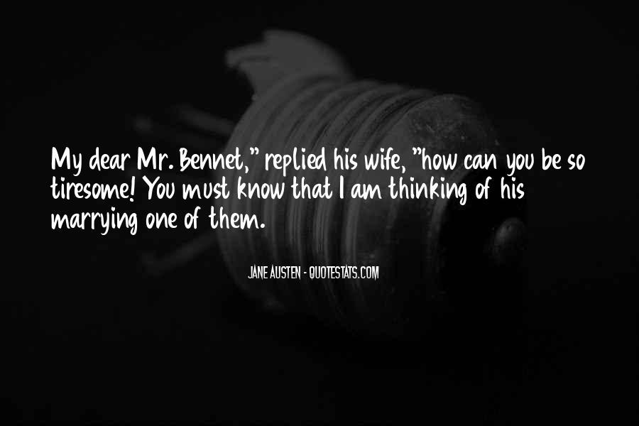 Jane Austen Mr Bennet Quotes #251576