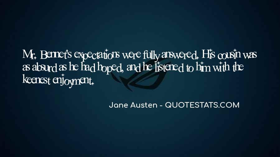 Jane Austen Mr Bennet Quotes #675616