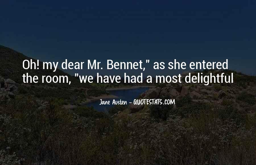 Jane Austen Mr Bennet Quotes #973074