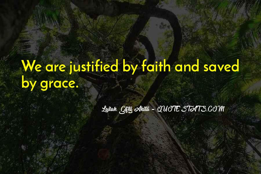 Quotes About Faith And Grace #272238