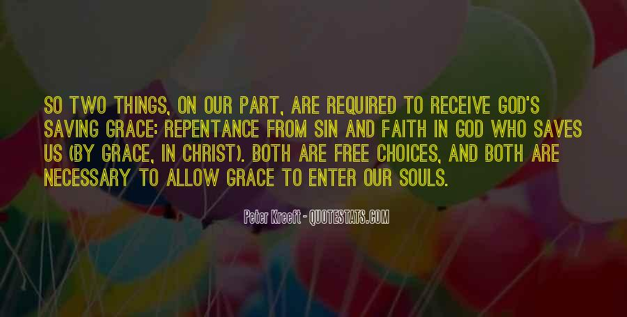Quotes About Faith And Grace #382676
