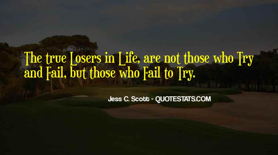 Quotes About Failing In Life #1011821