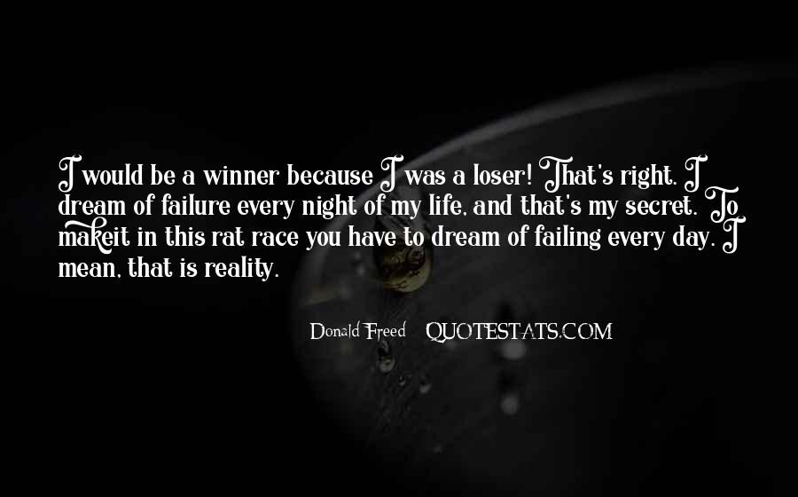 Quotes About Failing In Life #1064392