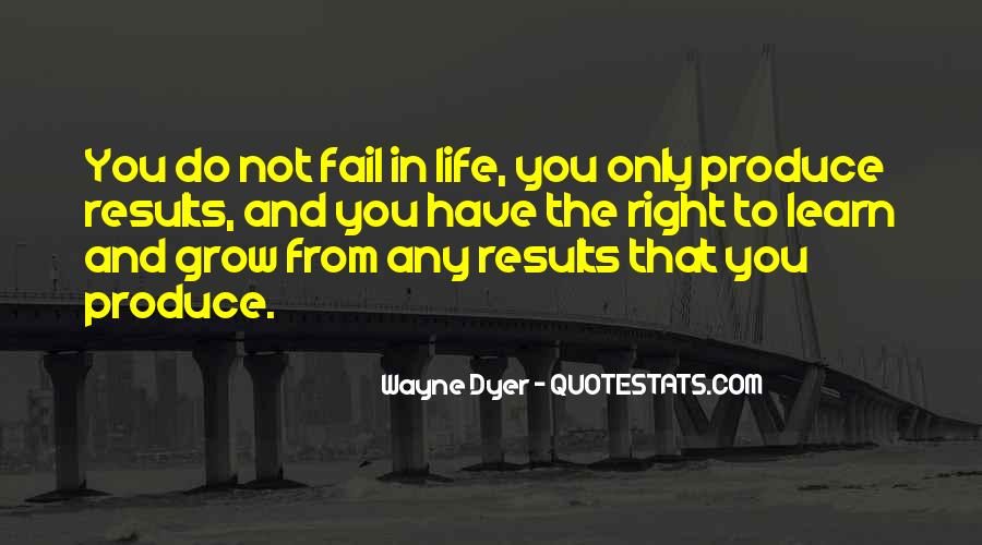 Quotes About Failing In Life #1504017