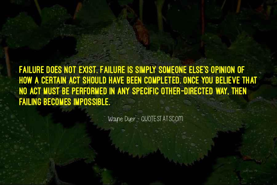 Quotes About Failing In Life #375663
