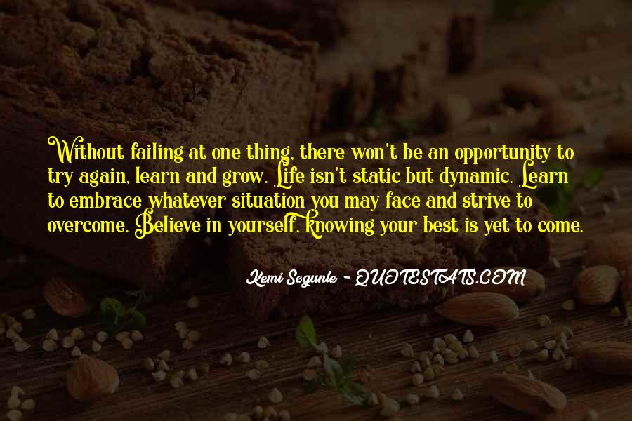 Quotes About Failing In Life #523929