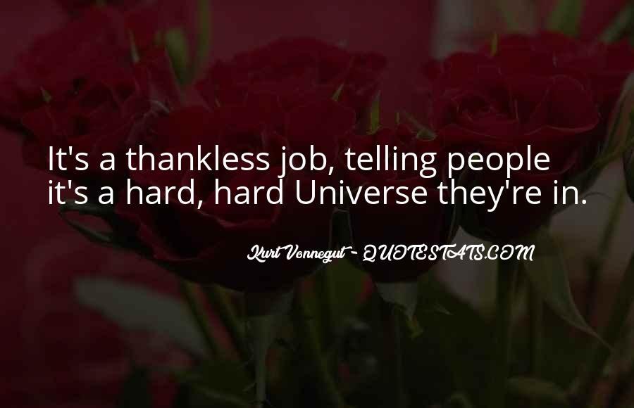 Quotes About Thankless People #627452