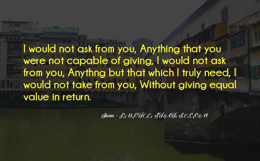 Javan Something To Someone Quotes #1849845