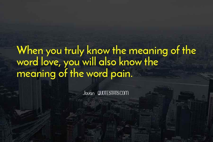 Javan Something To Someone Quotes #53999