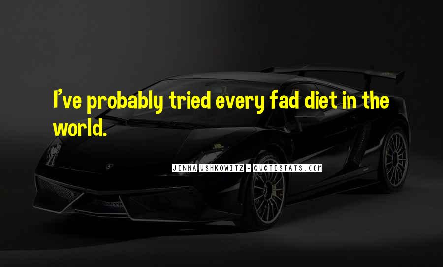 Quotes About Fad #350889
