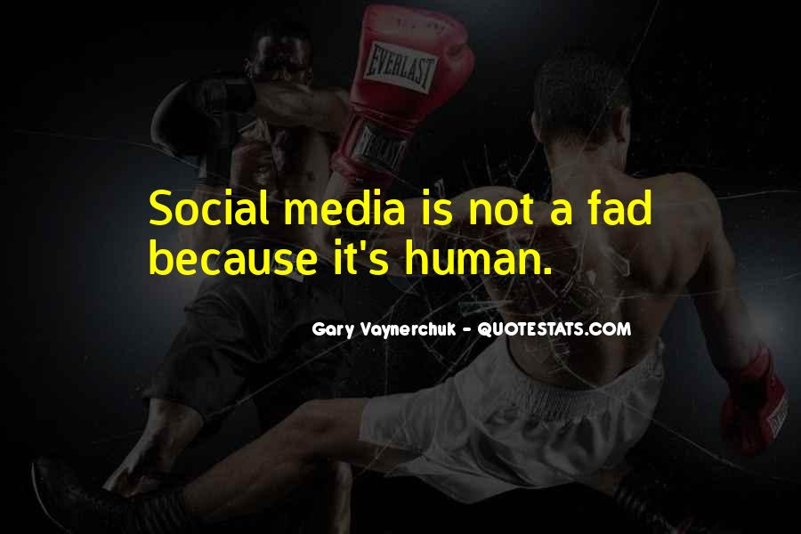Quotes About Fad #379175