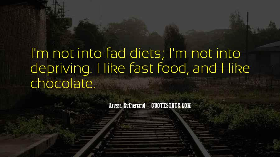 Quotes About Fad #512037