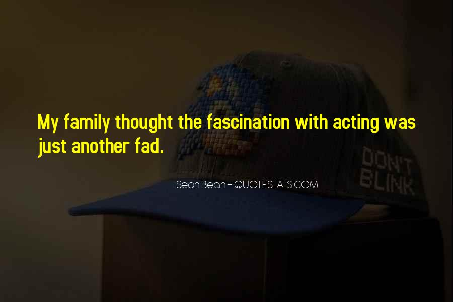 Quotes About Fad #720663