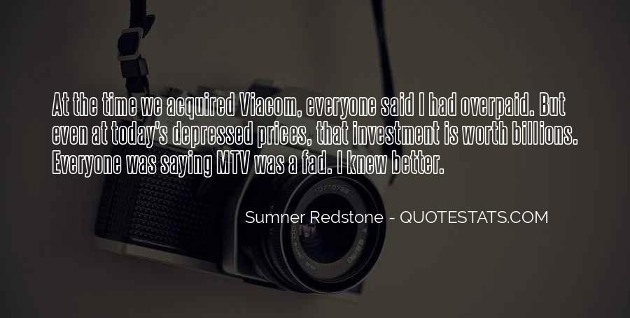 Quotes About Fad #819462