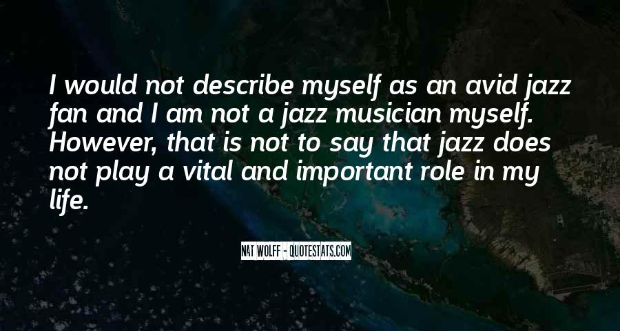 Jazz Important Quotes #1320148