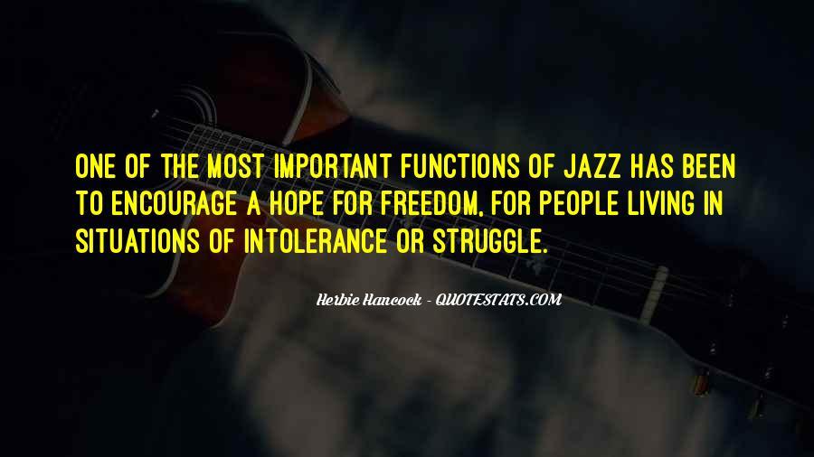 Jazz Important Quotes #226655