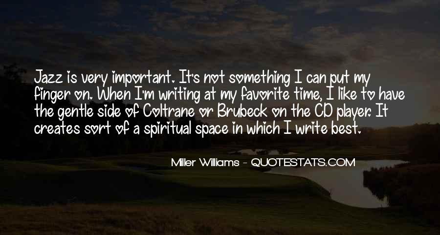 Jazz Important Quotes #275496