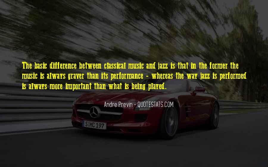 Jazz Important Quotes #312973