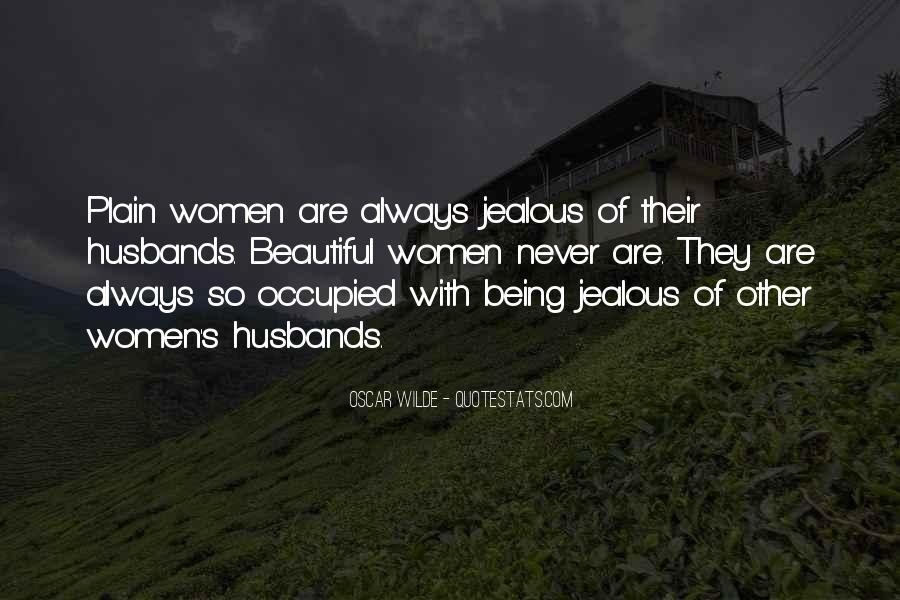 Jealous Of Ex Wife Quotes #266581
