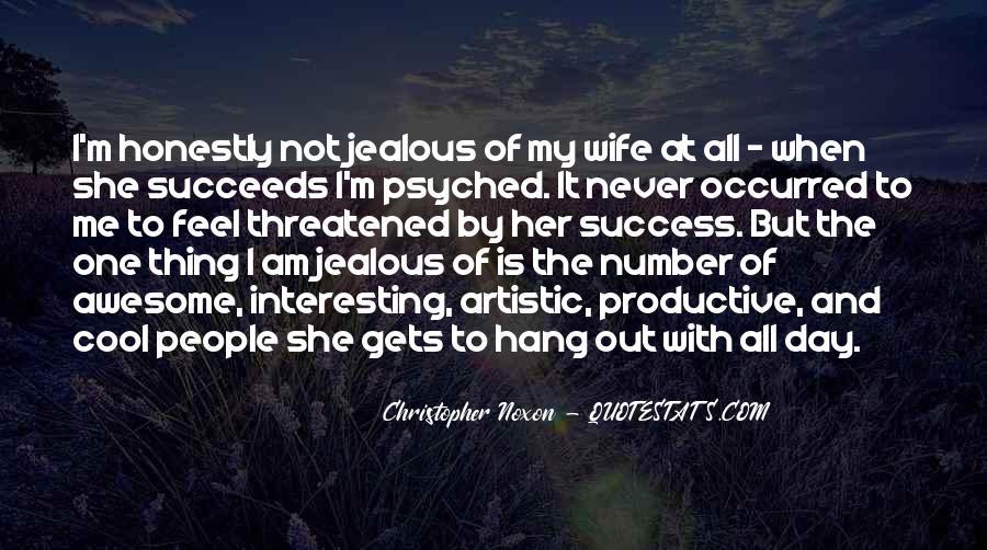 Jealous Of Ex Wife Quotes #962913