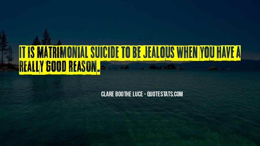 Jealous Of U Quotes #12484