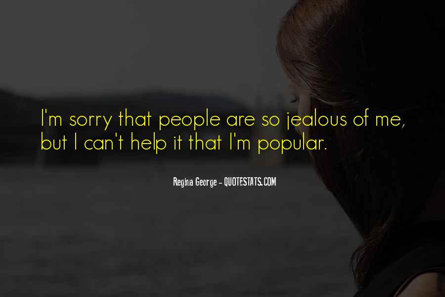 Jealous Of U Quotes #38984