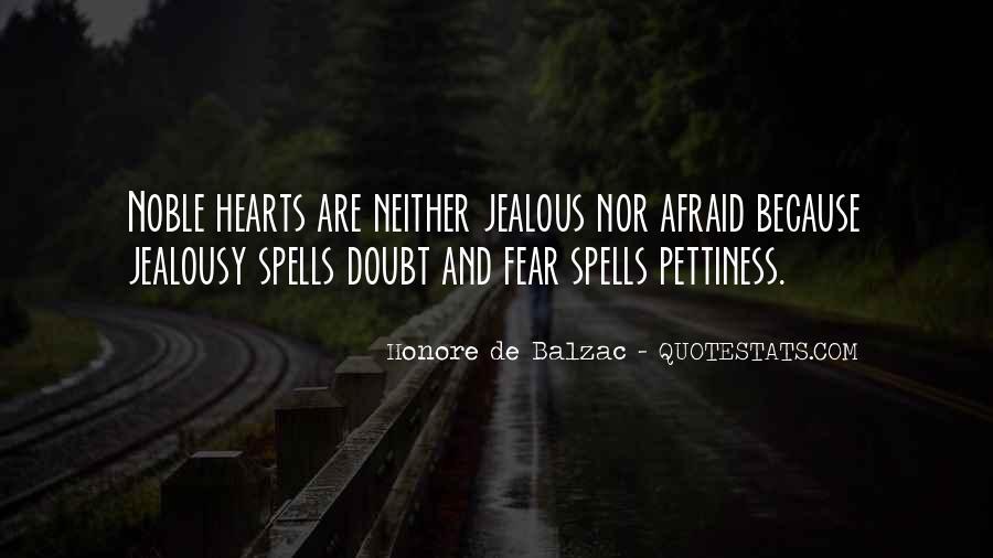Jealous Of U Quotes #40889