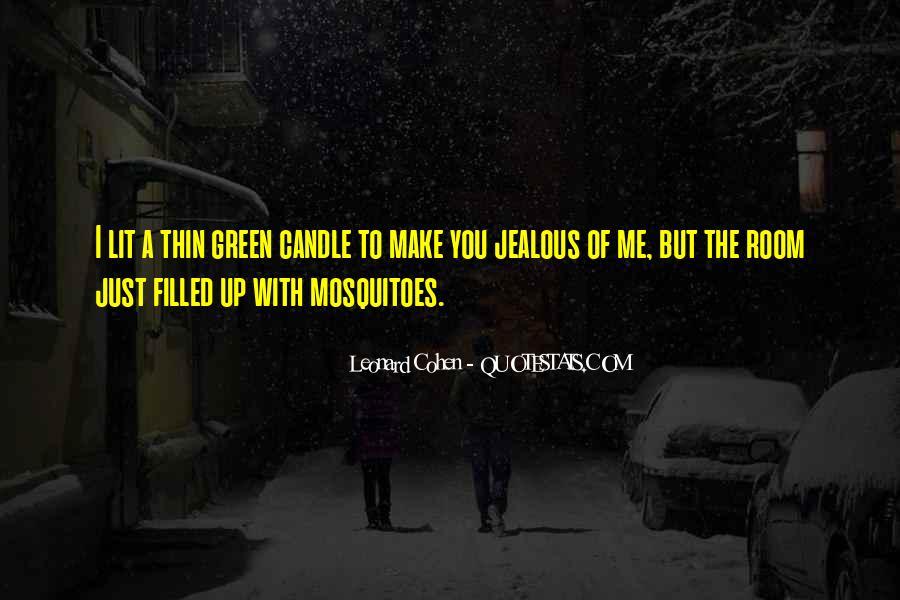 Jealous Of U Quotes #47490
