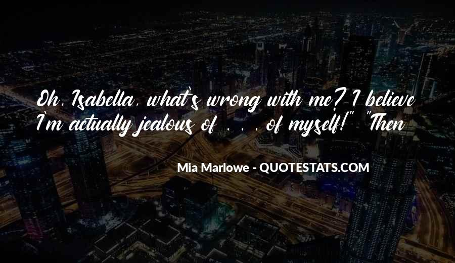 Jealous Of U Quotes #51081