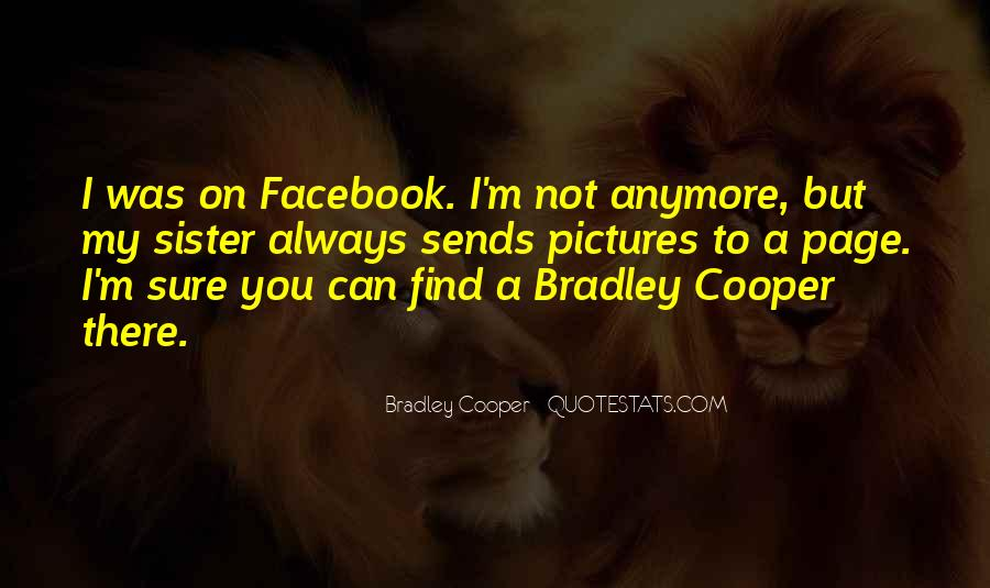 Quotes About Facebook Pictures #1146458