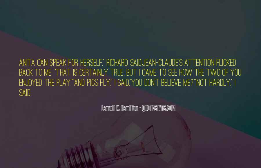 Jean Claude Anita Blake Quotes #1684991