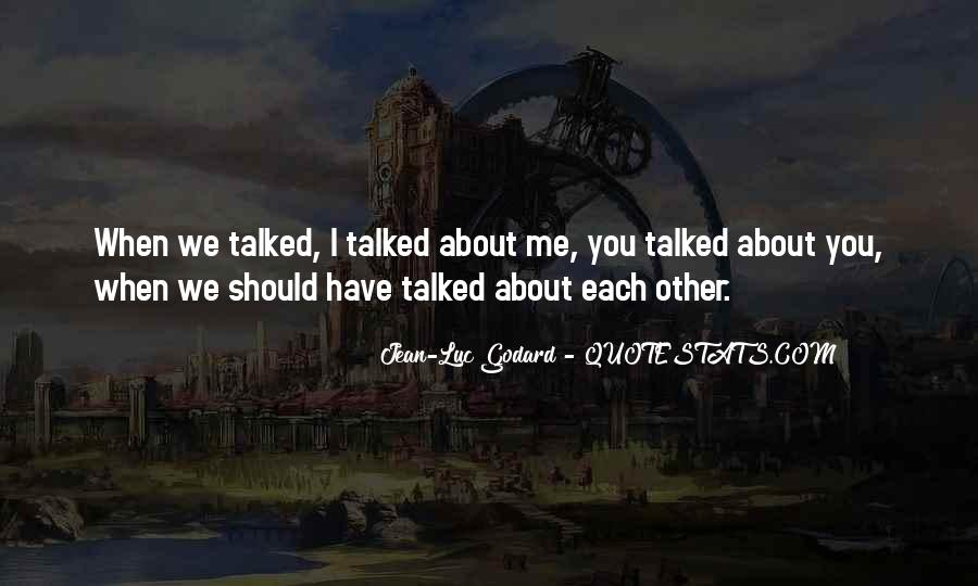 Jean Luc Godard Breathless Quotes #196268