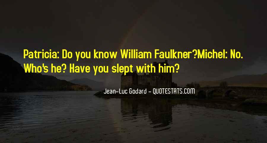 Jean Luc Godard Breathless Quotes #989033